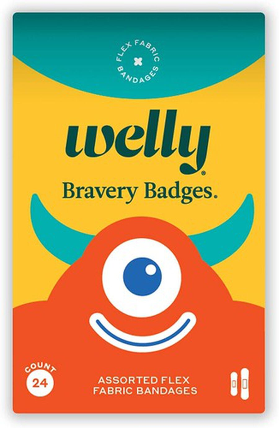 Welly Rainbow and Monster Bravery Badges Bundle, 144 pc, , large image number 4