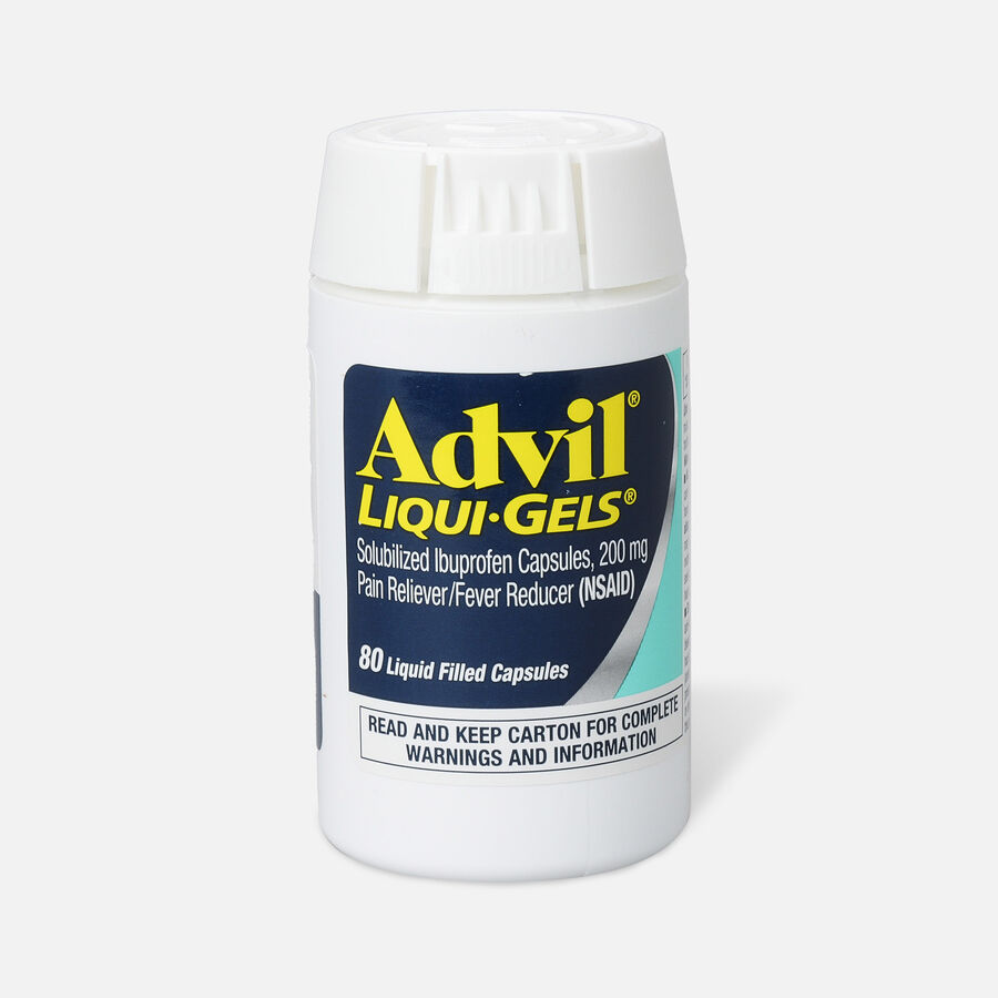Advil Pain Reliever and Fever Reducer Liqui-Gels, 200mg, , large image number 2