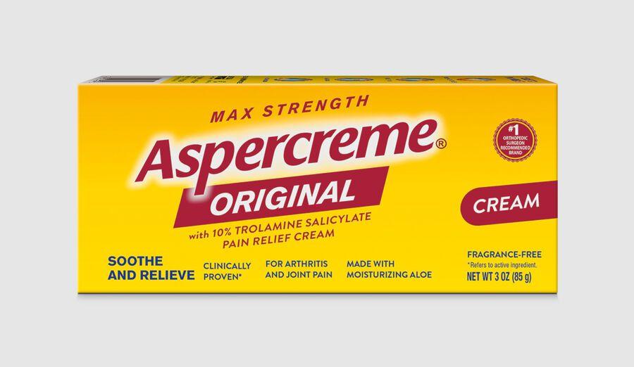 Aspercreme Original Pain Relieving Cream, 3 oz, , large image number 3
