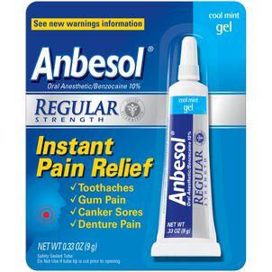 Anbesol Regular Strength Gel, 0.33 oz.