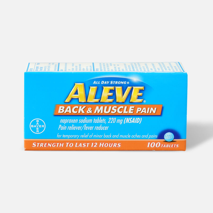 Aleve Back & Muscle Pain, 100ct, , large image number 0