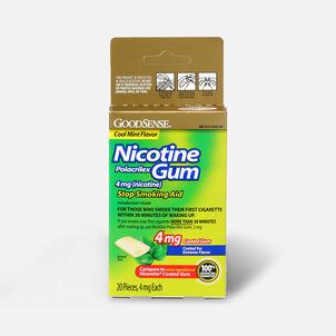 GoodSense® Nicotine Polacrilex Gum 4 mg (nicotine), Mint, Coated, 20 ct