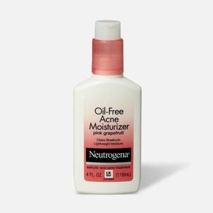 Neutrogena Pink Grapefruit Oil-Free Facial Moisturizer, 4oz.