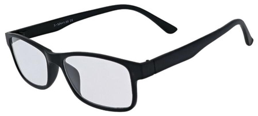 Sunglass Reader with Magnetic Detachable Polarized Lens, +2.00, Black/G15, Black, large image number 5