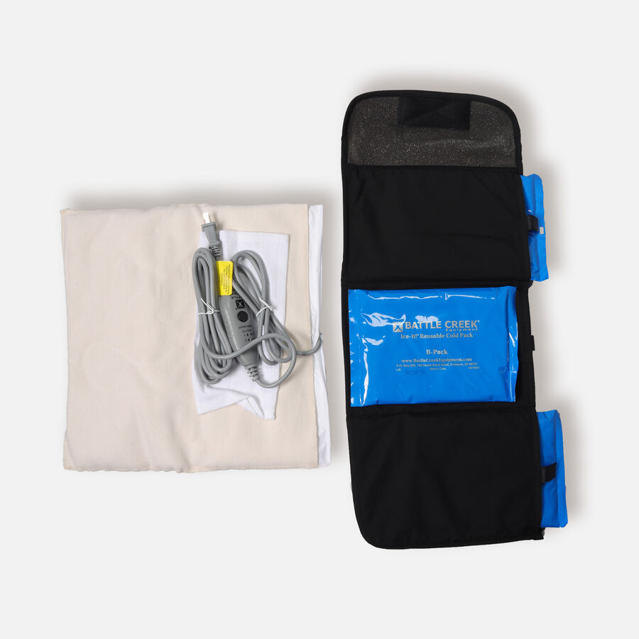 Battle Creek Back Pain Kit 2.0 with Electric Moist Heat and Cold Therapy, , large image number 3