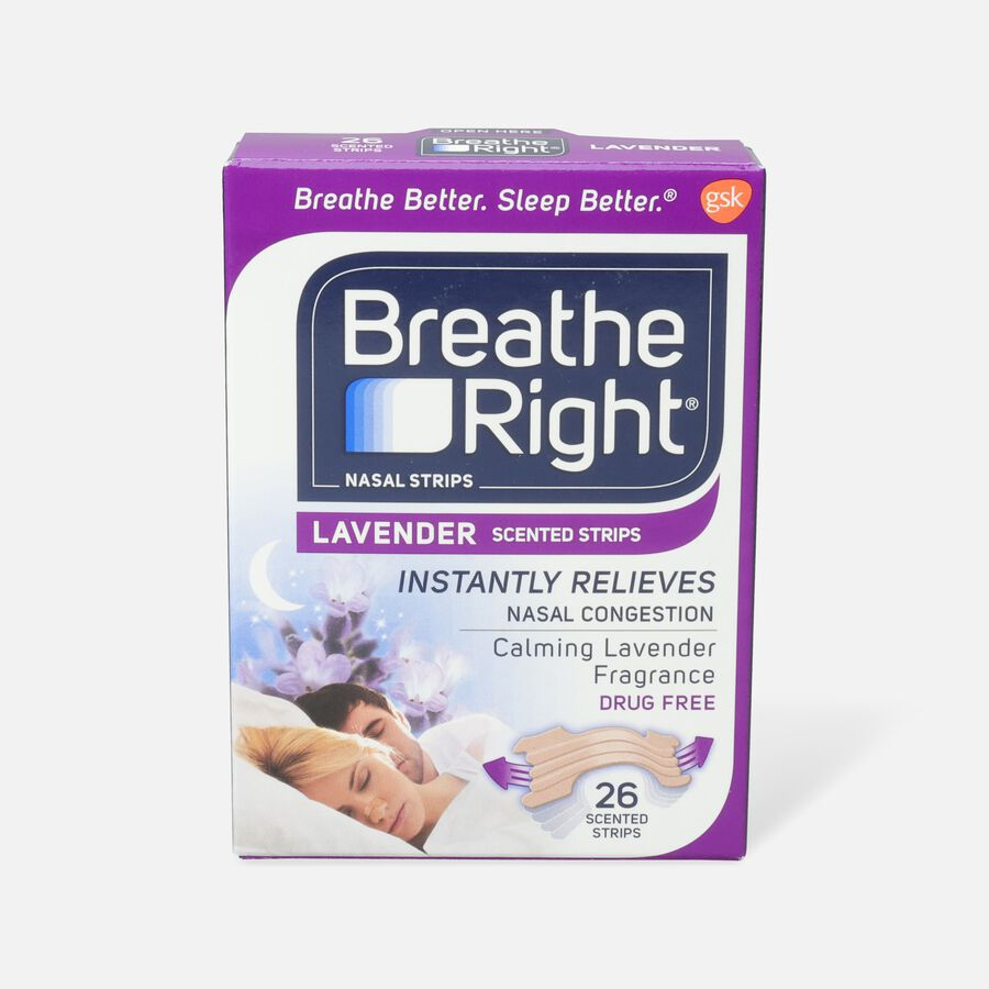 Breathe Right, Lavender Scented Strips, , large image number 1