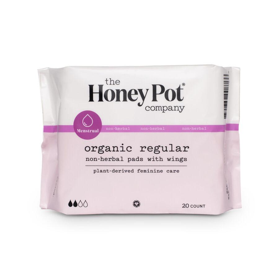 The Honey Pot Menstrual Pads, , large image number 1