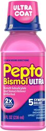 Pepto Bismol Ultra 5 Symptom Stomach Relief Liquid, Original, , large image number 0