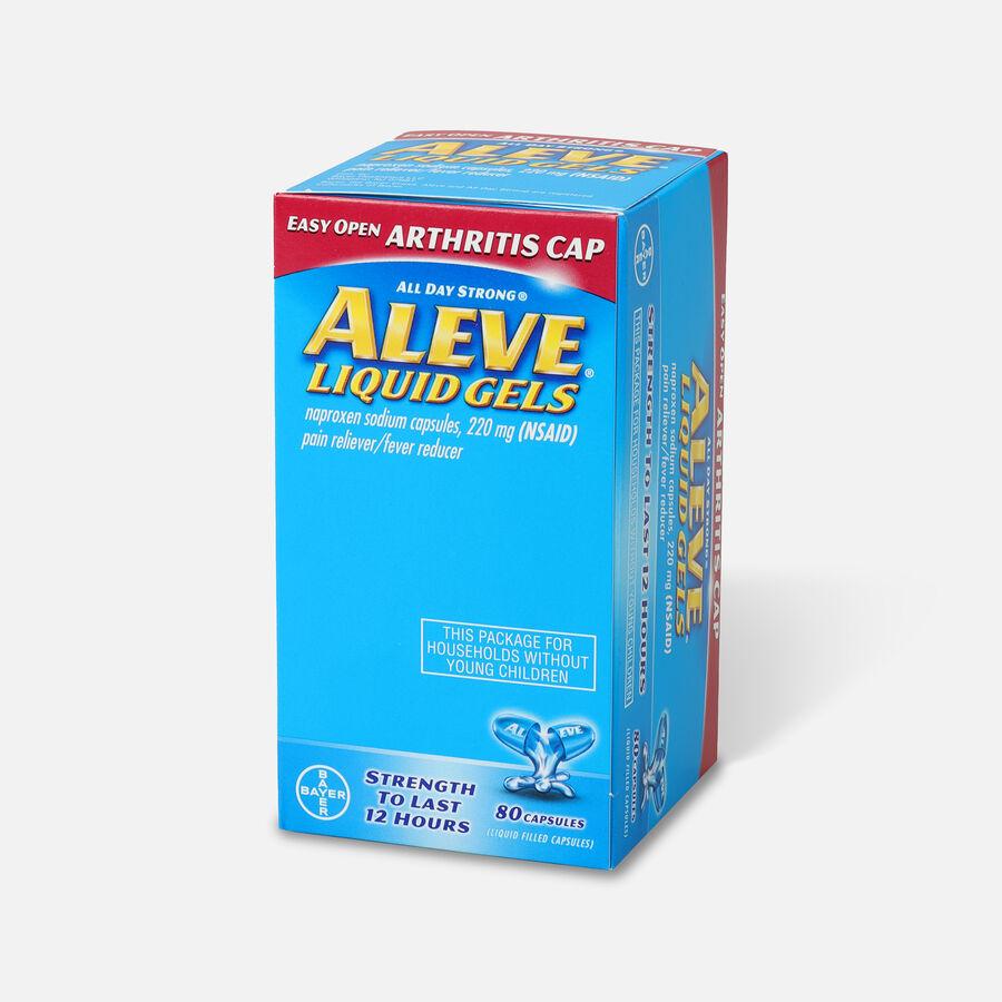 Aleve Arthritis Liquid Gels, Easy Open Cap, 80ct, , large image number 2