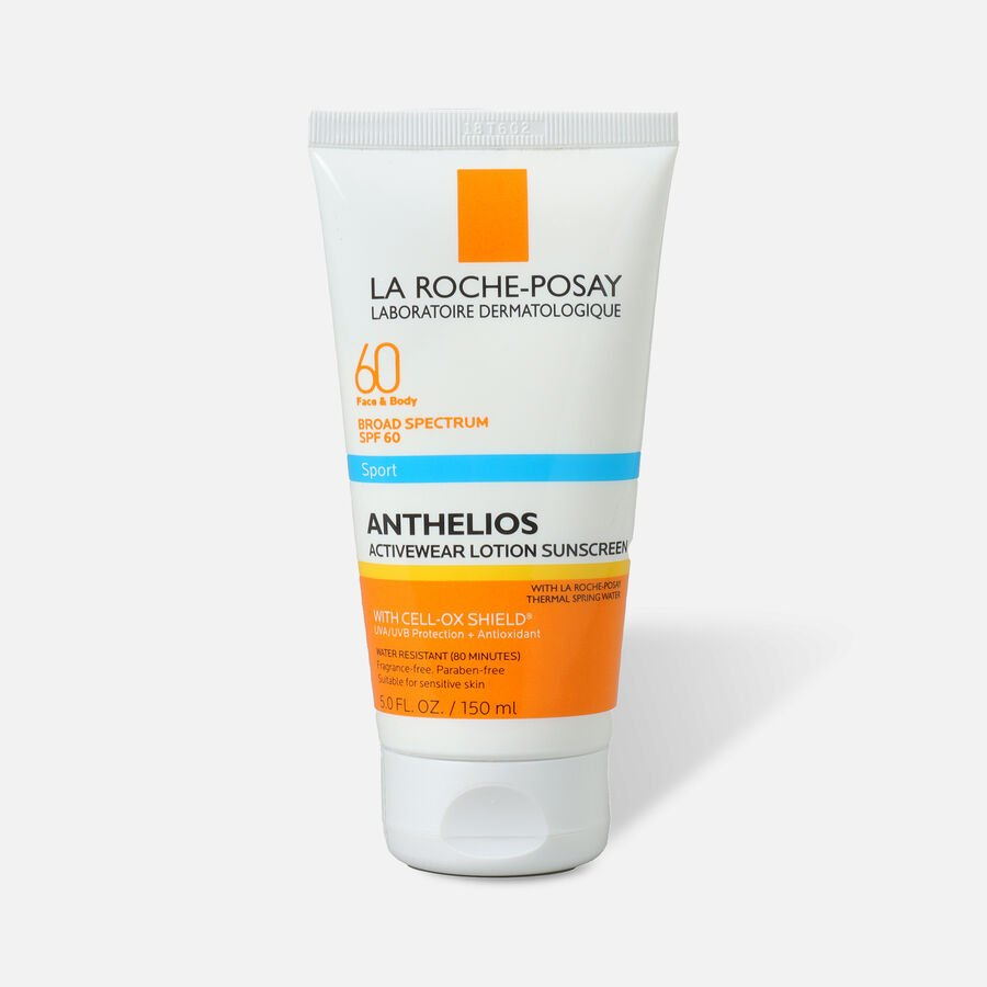 La Roche-Posay Anthelios SPF 60 Activewear Sport Sunscreen Lotion 5 fl oz, , large image number 0