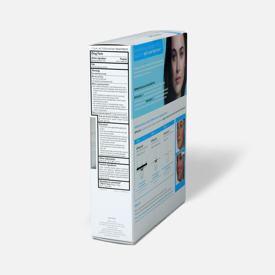 La Roche-Posay Effaclar Dermatological 3-Step Acne Treatment System, , large image number 3