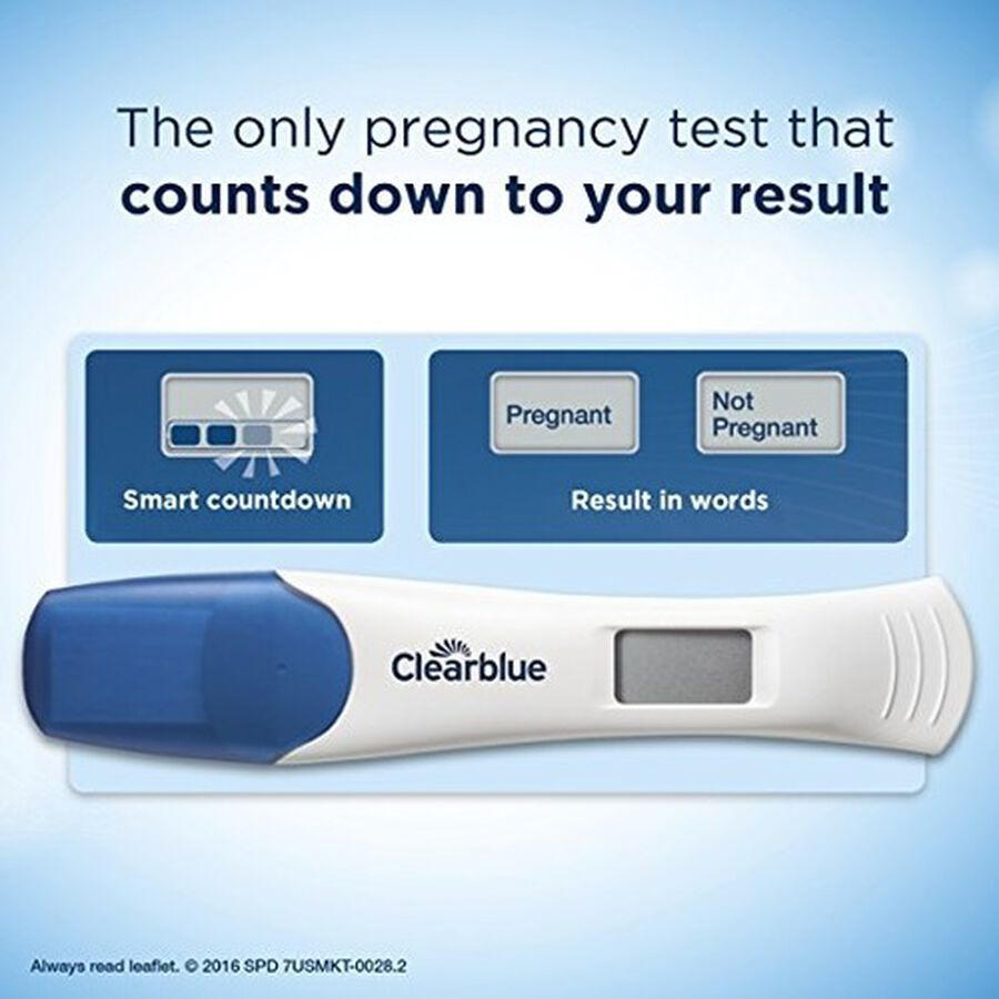 Clearblue Digital Smart Countdown Pregnancy Test - 2ct, , large image number 4