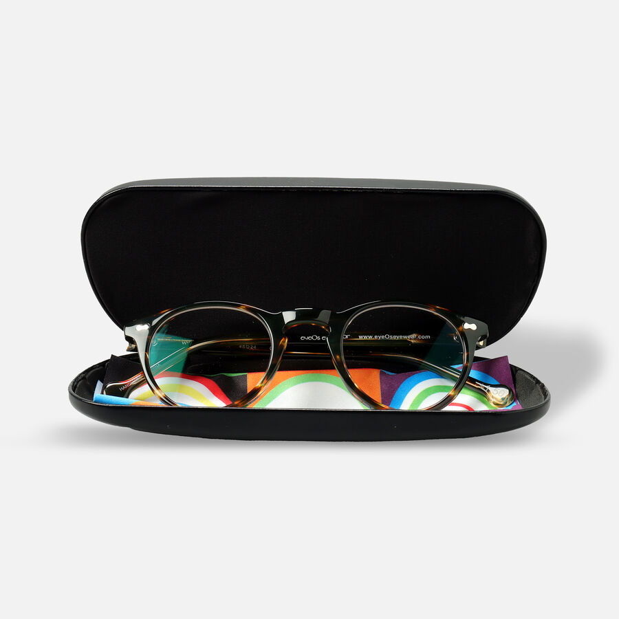 eyeOs Wise Guy Tortoise Premium Reading Glasses, , large image number 3