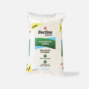 Bactine Max Antiseptic Wipes, 2-Pack