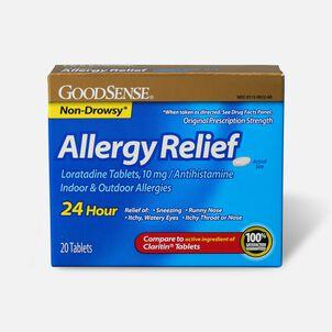GoodSense® Allergy Relief Loratadine Tabs,10 mg, 20 ct