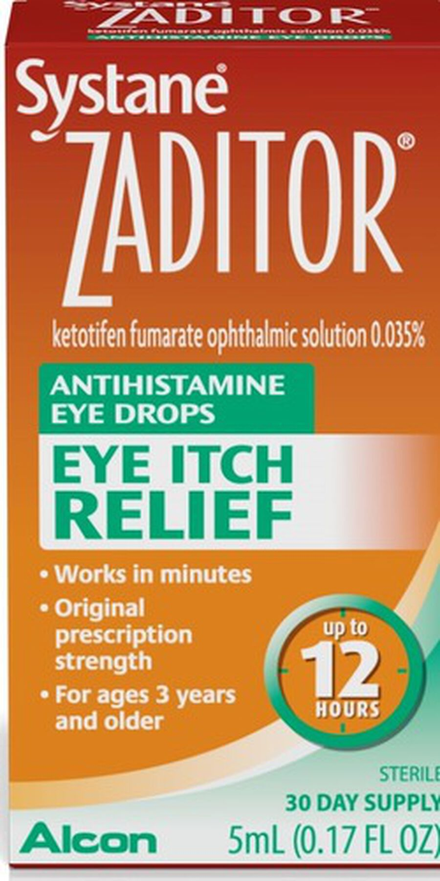 Systane Zaditor Eye Drops, , large image number 0