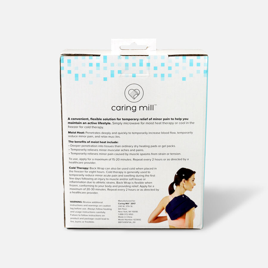 """Caring Mill® Hot & Cold Back Wrap 20"""" x 7"""", , large image number 1"""