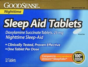 GoodSense® Sleep Aid 25 MG Tablets, 32 ct