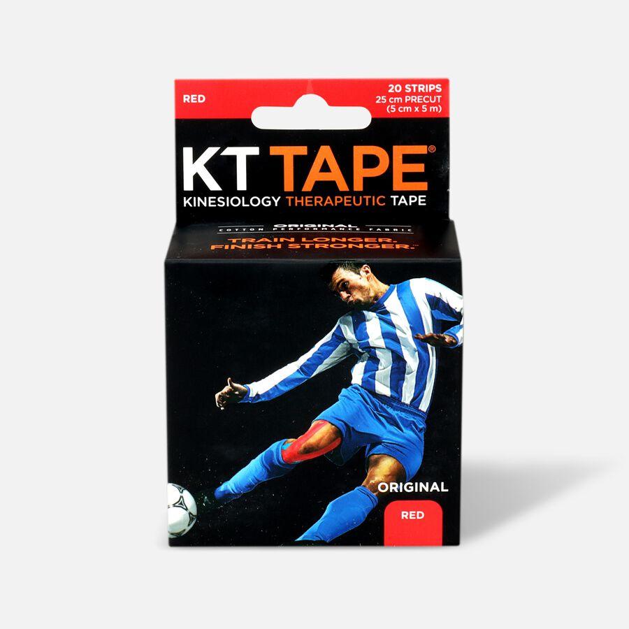 KT TAPE Original, Pre-cut, 20 Strip, Cotton, , large image number 4