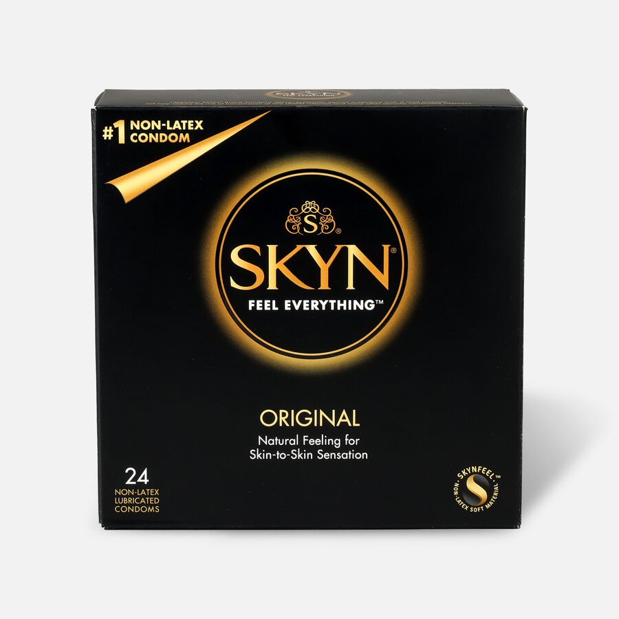 Lifestyles SKYN Original Non-Latex Condoms, 24 Count, , large image number 0