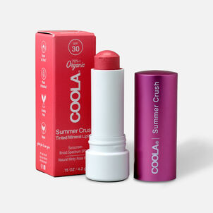Coola Mineral Liplux SPF 30 Summer Crush Lip Balm, .15 oz.