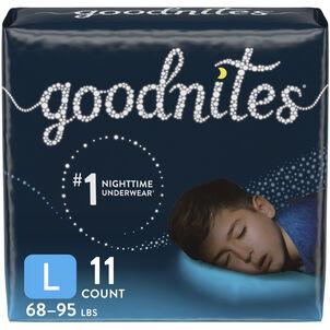Goodnites Youth Pants, Boy, Jumbo Pack