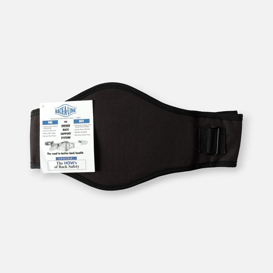 Back-A-Line Premier BMMI® Medical Magnets Lumbar Support, Black, , large image number 0