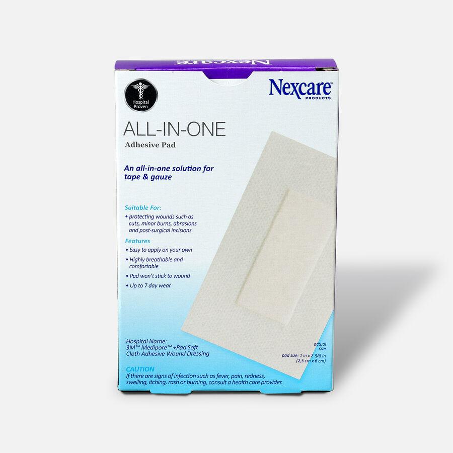 "Nexcare Soft Cloth Premium Adhesive Pad 2 3/8"" x 4"" - 5ct, , large image number 1"