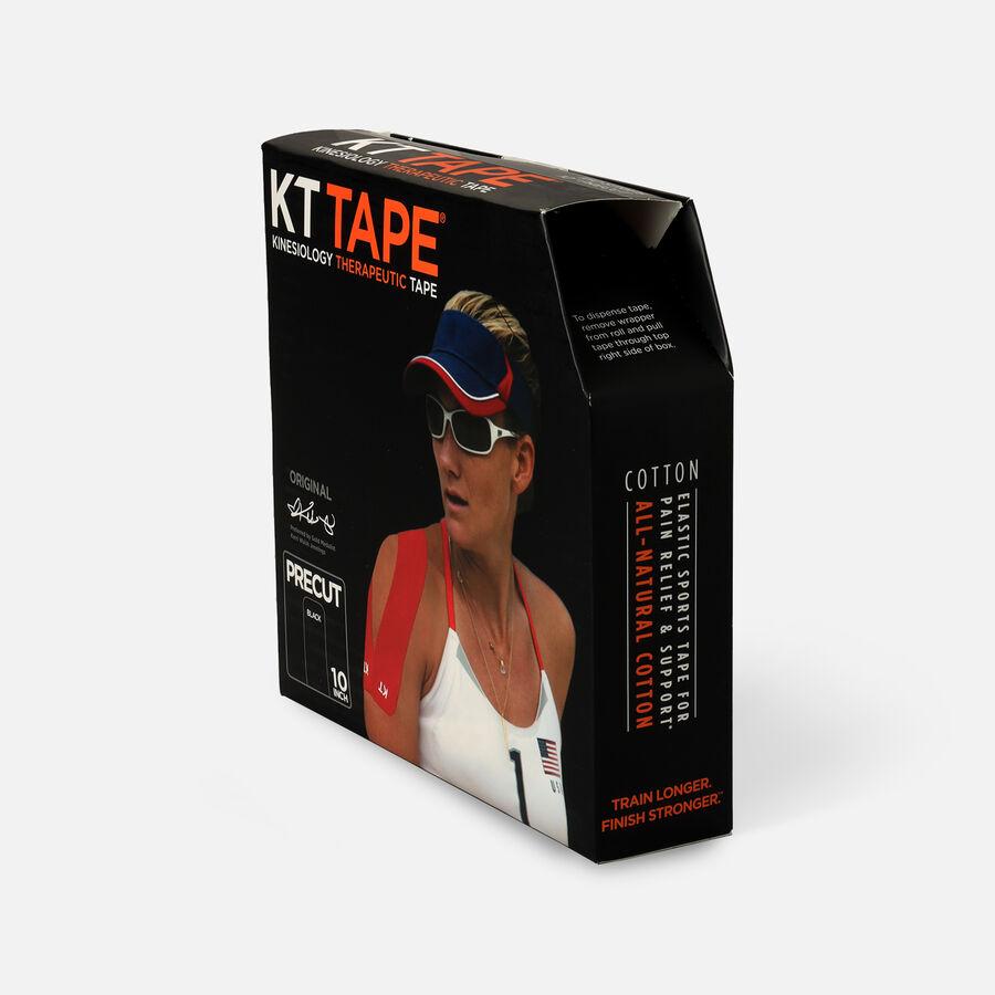 KT Tape Cotton Jumbo Precut Tape, Black, 150 Precut Strips, Black, large image number 2