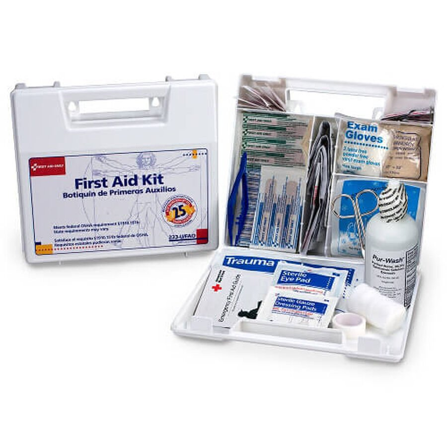 First Aid Only 25 Person First Aid Kit, 110 pcs, , large image number 2