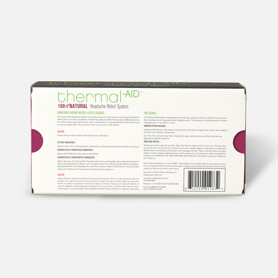 Thermal-Aid Headache Relief System, , large image number 2
