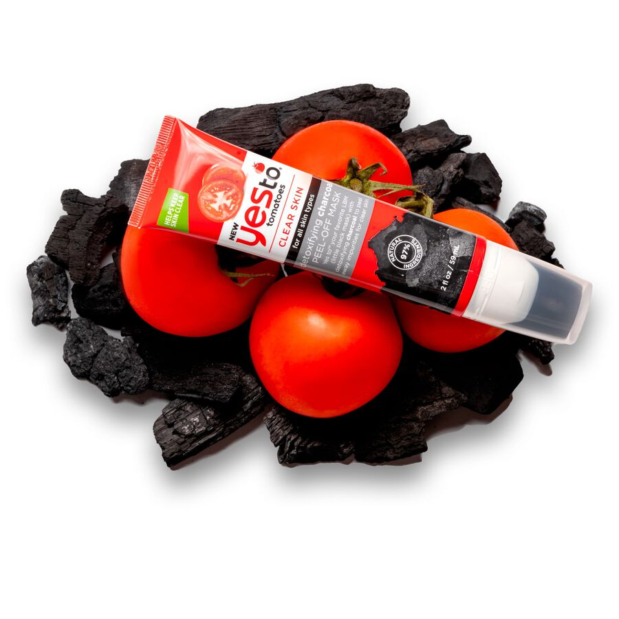 Yes To Tomatoes Charcoal Peel-Off Mask, , large image number 2