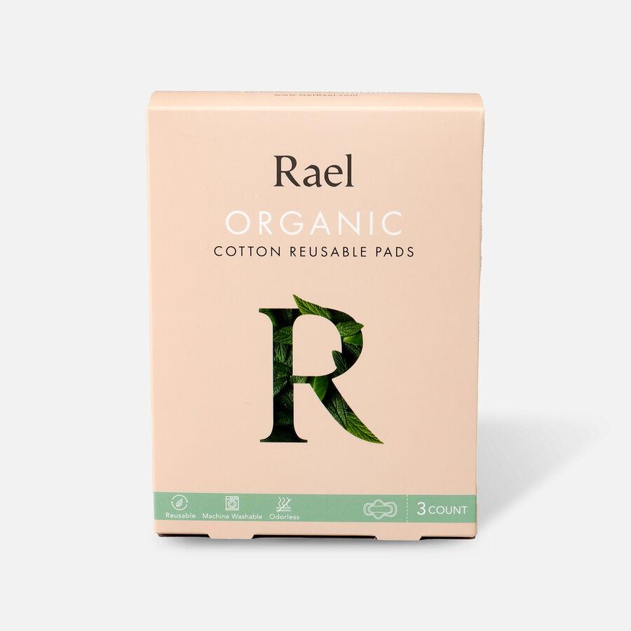 Rael Organic Cotton Reusable Pads, , large image number 3