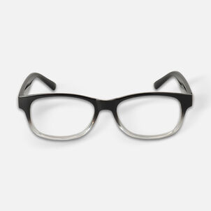 Today's Optical Frame, Black with Transparent Accents