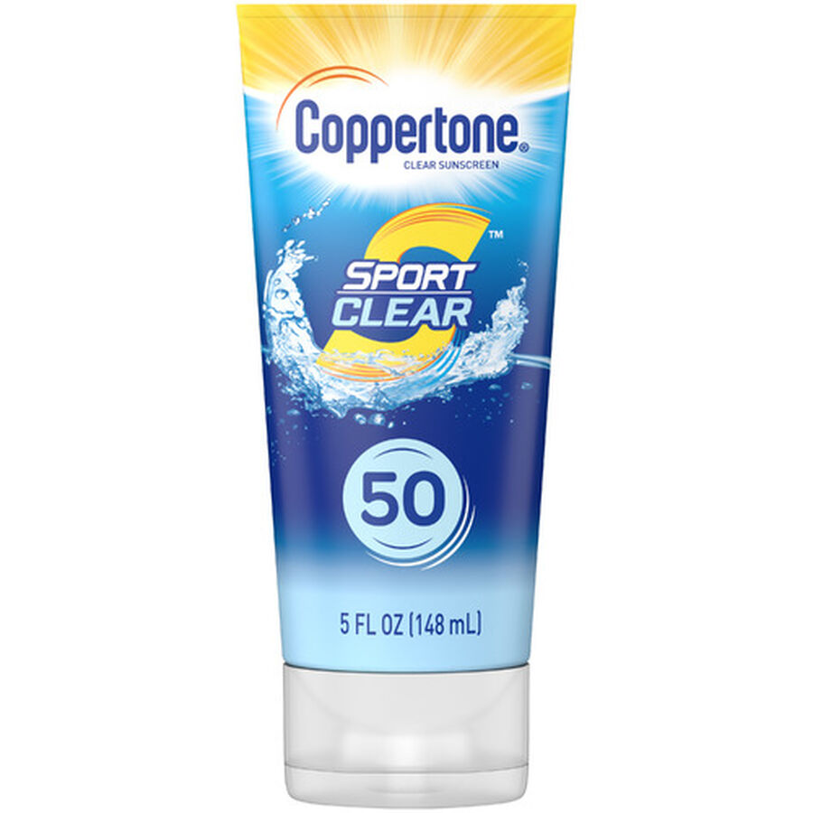 Coppertone Sport Clear Sunscreen Lotion, Spf 50, 5 Oz, , large image number 0