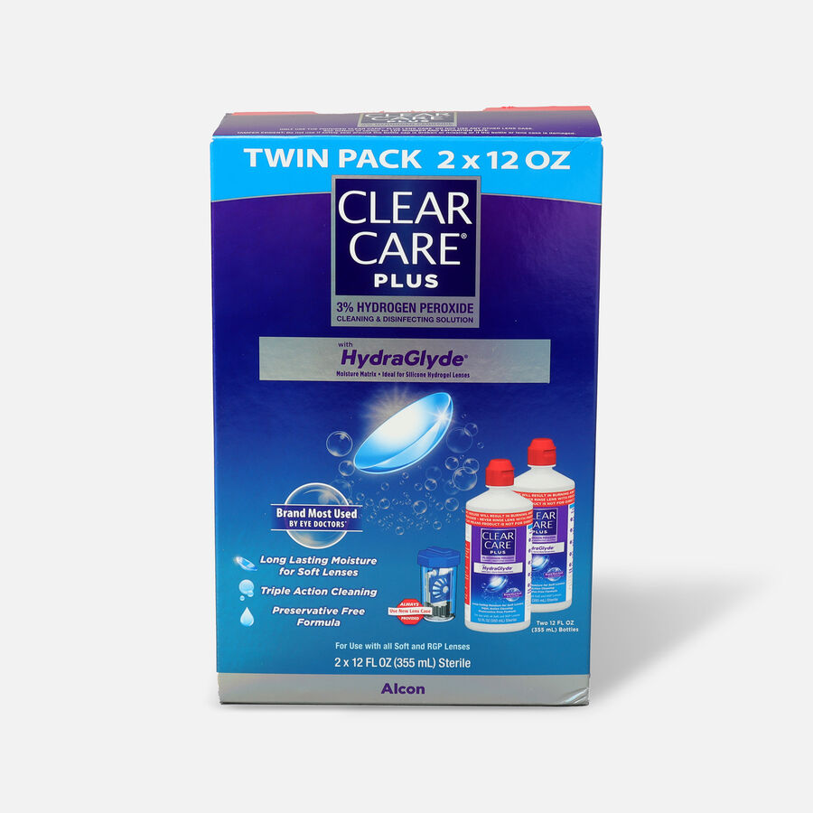 Clear Care Plus Cleaning and Disinfecting Solution, , large image number 2