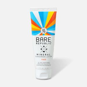 Bare Republic Mineral Face SPF 70 Sunscreen Lotion, 2 Fl Oz