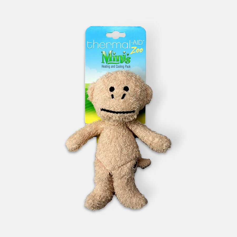 Thermal-Aid Mini Zoo Monkey Hot and Cold Pack, , large image number 0