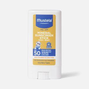Mustela Mineral Sunscreen Stick, SPF 50, 0.6 oz