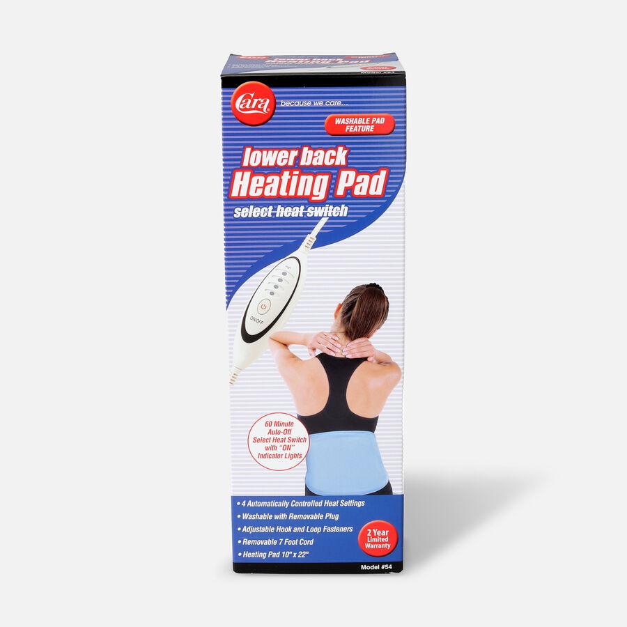 "Cara Lower Back Heating Pad, 10"" x 22"", , large image number 0"