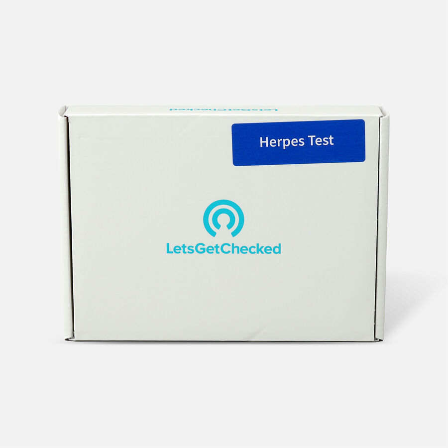 LetsGetChecked At Home Herpes Test, , large image number 0