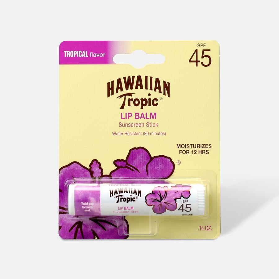 Hawaiian Tropic Tropical Sunscreen Lip Balm SPF 45+, , large image number 0