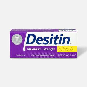 Desitin Maximum Strength Zinc Oxide Diaper Rash Paste, 4 oz
