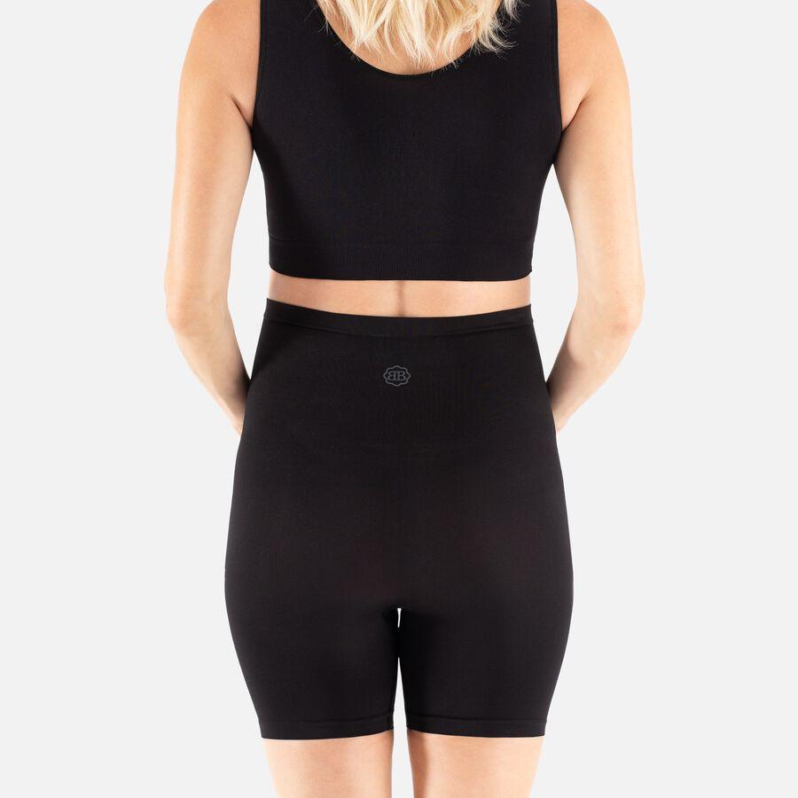 Belly Bandit Thighs & Belly Support Short, Black, Small, Black, large image number 3