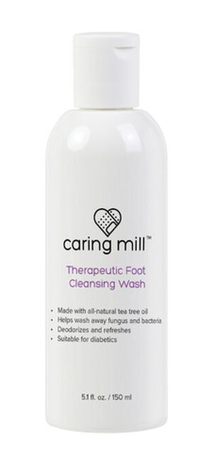Caring Mill™ Therapeutic Foot Cleaning Wash 5.1 oz