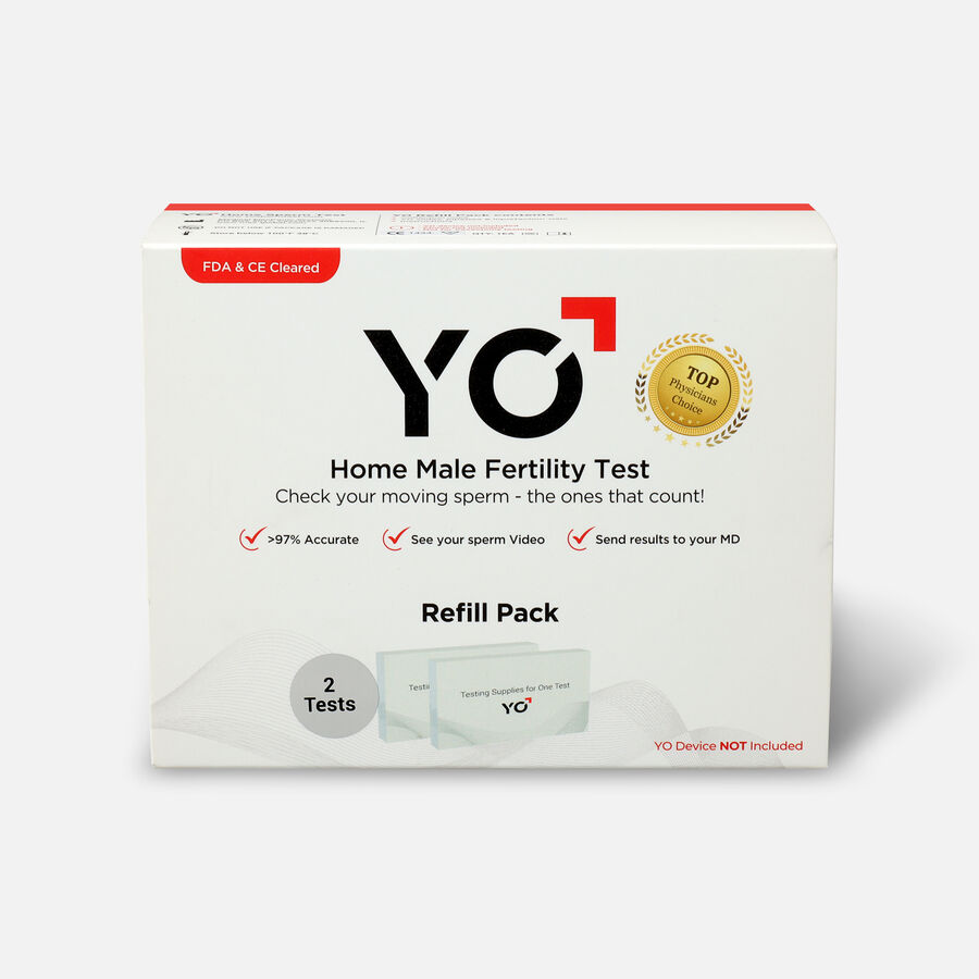 YO Home Sperm Test Kit - Refill Pack, , large image number 0