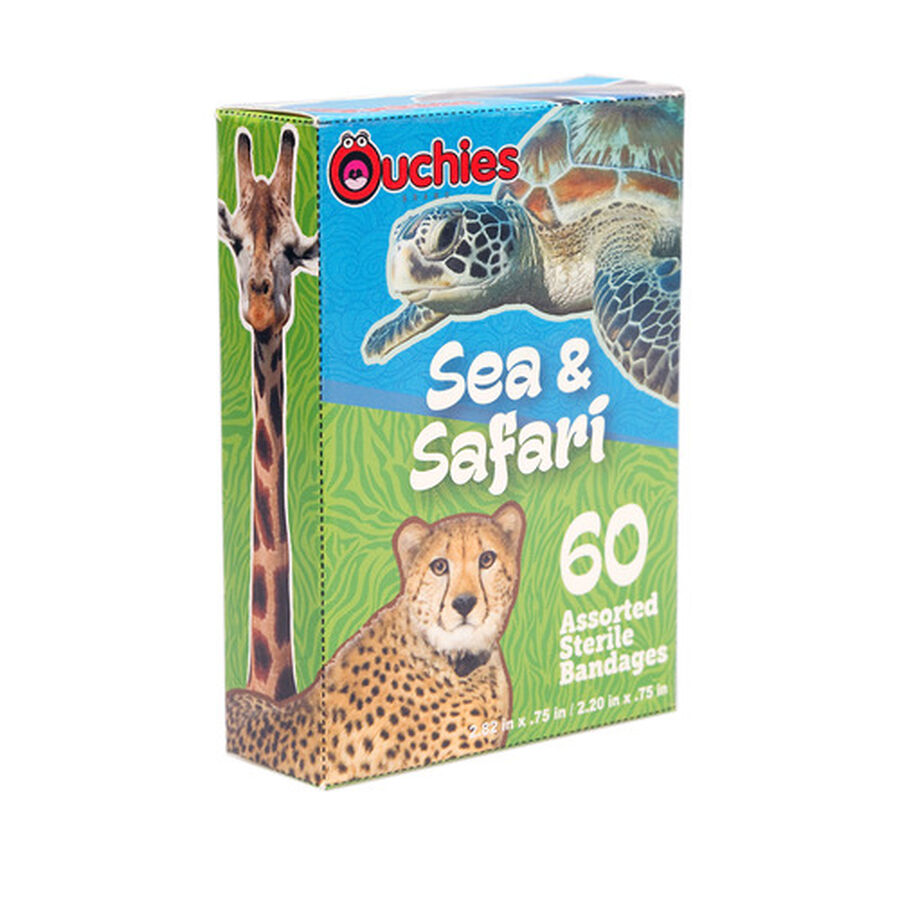 Ouchies Sea and Safari Bandages, 60ct, , large image number 2