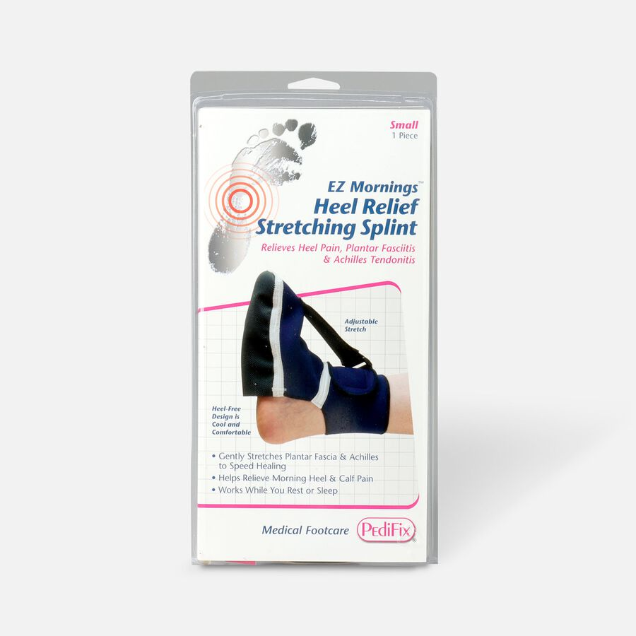 Pedifix EZ Mornings Heel Relief Stretching Splint, Small, , large image number 0