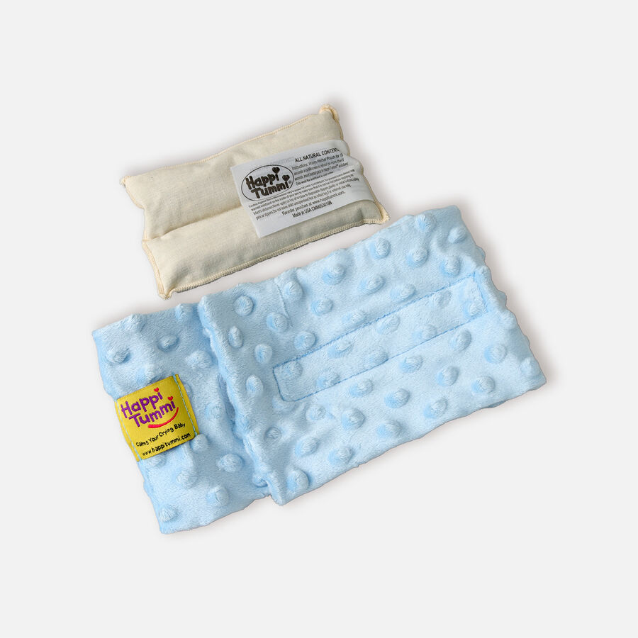 Happi Tummi Colic and Gas Relief Herbal Waistband, Minky Dot, , large image number 3
