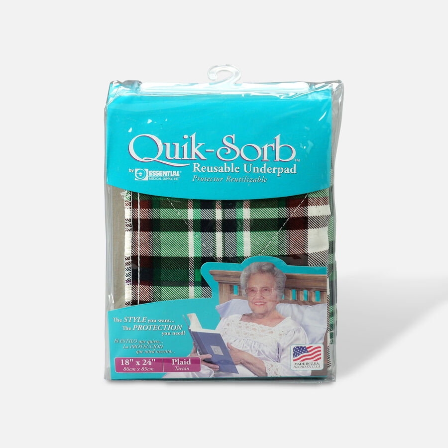 Essential Medical Supply Quik-Sorb Reusable Underpad, , large image number 0